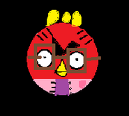 Angry Birds Female Red