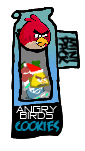 Angry Birds Cookies Bag