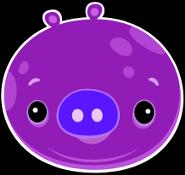 Dark Fat Pig