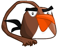 The new brown slapping bird