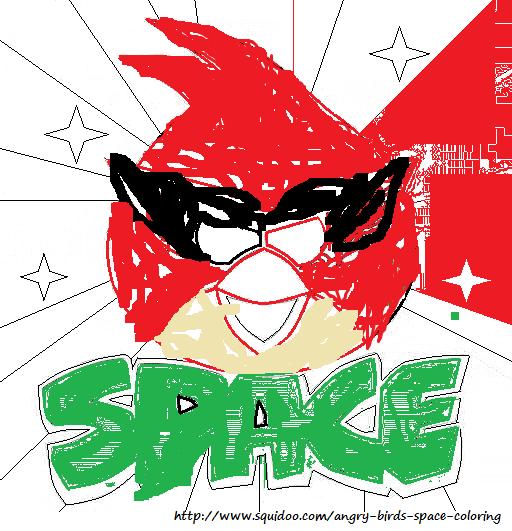 Image  Angrybirdsspacecoloringpagesredbirdi2png  Angry
