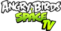 Angry Birds Space TV's New Logo