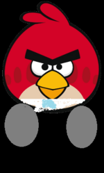 Angry Birds Red Bird for Angry Birds 6
