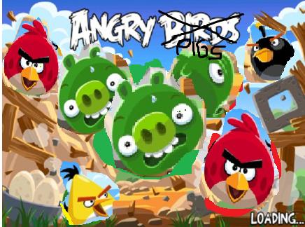 Angry pigs new splash screen