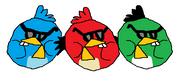 Sunglasses Chipmunk Birds