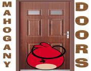 Mahogany Doors Artwork