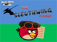 The Sleuthwing Finder Title Card
