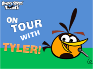 On Tour With Tyler! Title Card
