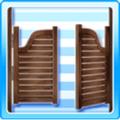 Saloon-door-brown