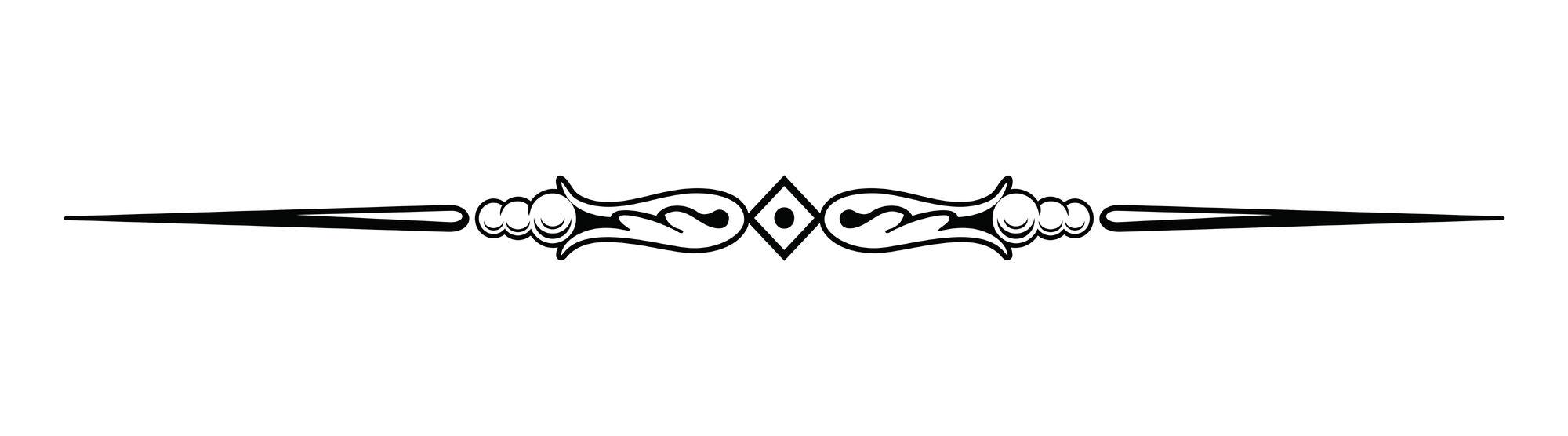 Line Art Media Design : Image decorative line dividers clip art ql lf clipart