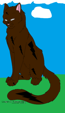 File:Free lineart shorthair cat by tesseri shira.png