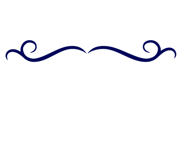 Single Line Borders Clip Art : Image single line border clipart dark blue swirl divider