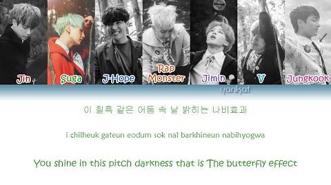 BTS (방탄소년단) - Butterfly (Color Coded Han-Rom-Eng Lyrics) - by Yankat