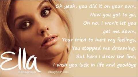 Ella Henderson - Missed (Official Studio Version) Lyrics on Screen -Full Length- New