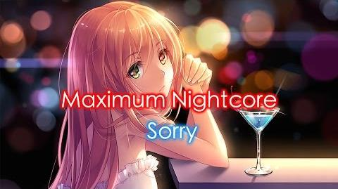 Nightcore - Sorry (Female Version)