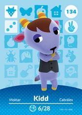 Amiibo 134 Kidd