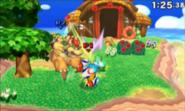 Island gameplay ssb4