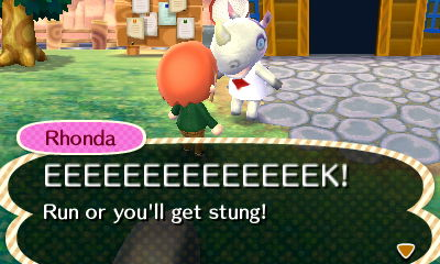 File:Talking to Rhonda While Bees are Chasing.JPG