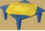 Blue table NL