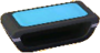 Astro blue and black table