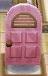 Arched pink door
