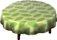 Leaf alpine large table