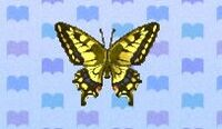 Tiger butterfly encyclopedia (New Leaf)
