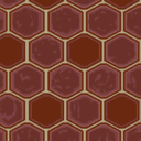 Flooring red tile