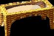 Cabana table gold