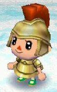 Warrior look