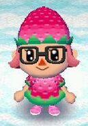 Strawberry look