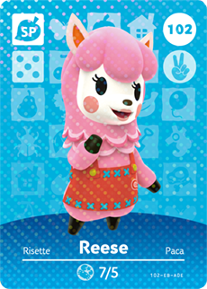 Amiibo 102 Reese