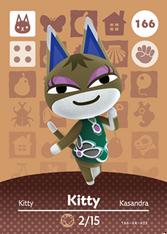 Amiibo 166 Kitty