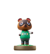 Tom Nook amiibo figure