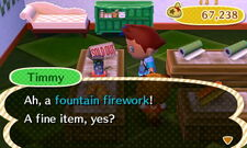 Fountain firework shop