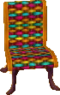 Cabana chair colorful