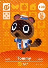 Amiibo 108 Tommy