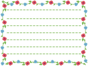 Flowery-paper