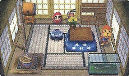 Image maison de animal crossing wiki fandom for Meubles japonais acnl