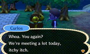 Curlos' Itchy Catchphrase