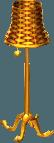 Cabana lamp gold