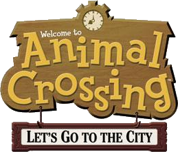 File:Animal Crossing - Let's Go To The City Logo.png