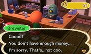 Not Enough Money (Cafe)