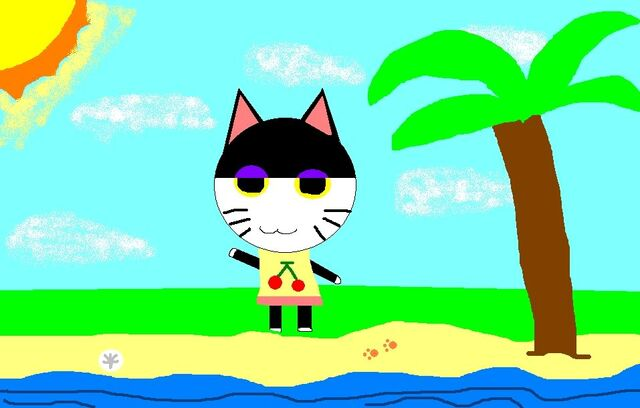 File:PUNCHY AT THE BEACH!.jpg