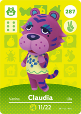 Amiibo 287 Claudia