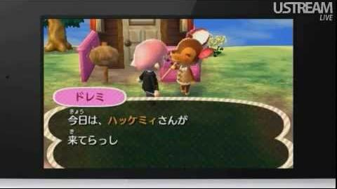 Animal Crossing Jump Out Nintendo Direct 6 21 2012