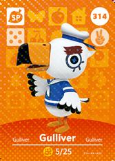 Amiibo 314 Gulliver