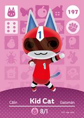 Amiibo 197 Kid Cat