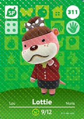 Amiibo 311 Lottie