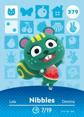 Amiibo 379 Nibbles